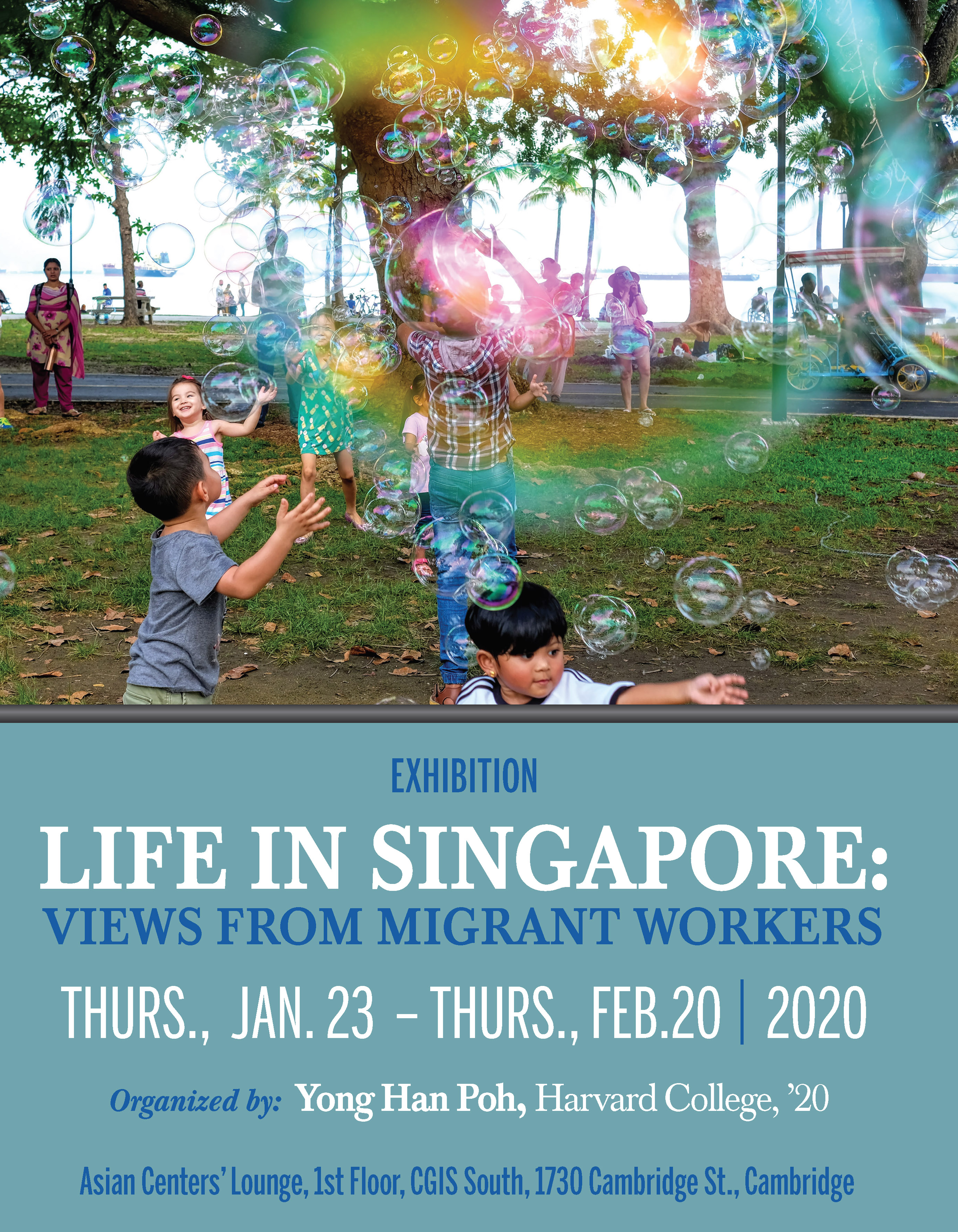 Poster: Life in Singapore